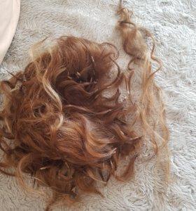 Натуральные волосы капсульные