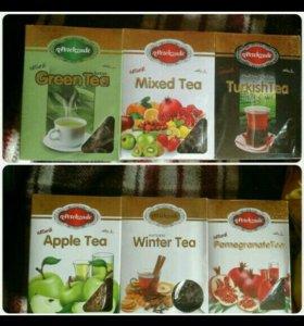 чай 6 разных вкусов (Турция)