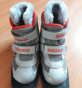 Ботинки для беговых лыж KidBoot NORDWAY