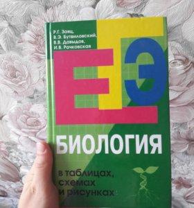 Литература для подготовки к ЕГЭ по биологии