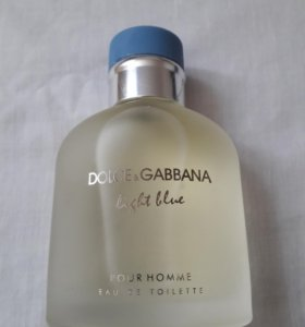 DOICE &GABBANA light blue