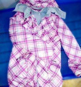 Куртка 3 в 1. Для беременных и слингокуртка
