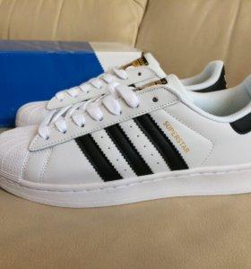 Кроссовки Adidas Superstar кожа