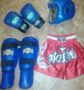 Набор для тайского бокса.