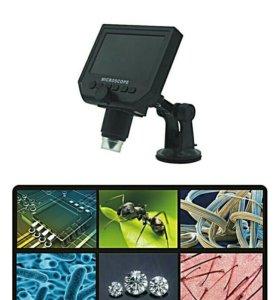 600x USB Цифровой Электронный Микроскоп С экраном.