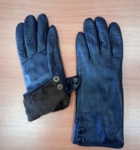 Перчатки женские,нат.кожа,р-р 6,5