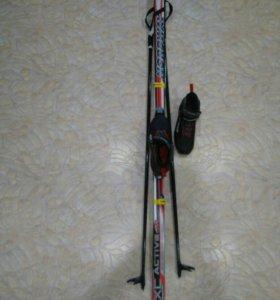 Лыжи беговые комплект