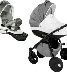 Детская коляска Tutis Zippy Silver New 2 в 1