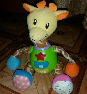 Музыкальный интерактивный жирафик
