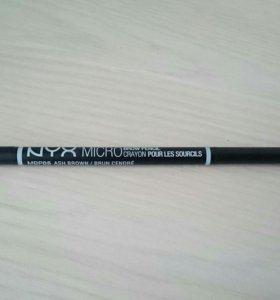 Карандаш для бровей Nyx microbrow