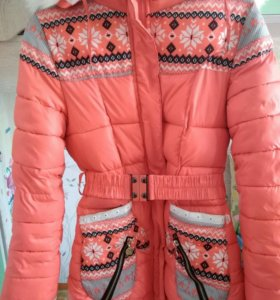 Зимняя подрастковая куртка