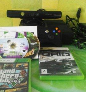Xbox360Е 500gb+kinekt 5 игр!