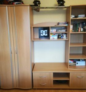 Стенка + шкаф
