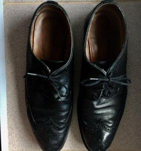 Туфли кожаные h&m