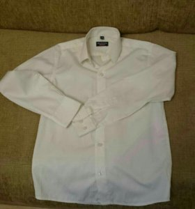 Белая рубашка Brostem для мальчика