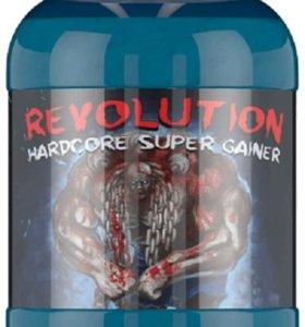 Гейнер REVOLUTION HARDCORE, 900 гр.(Вкус: Банан)