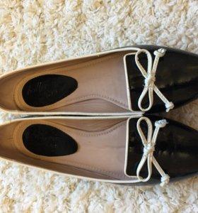 Туфли итальянские Vero Cuoio Ballerina новые