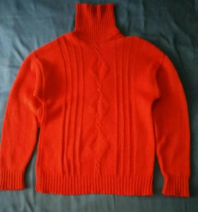 Свитер, 100% шерсть, кофта, пуловер, водолазка