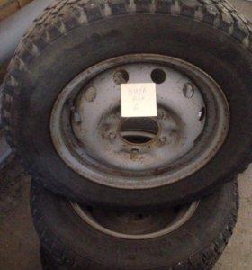 Комплект колёс на НИВУ