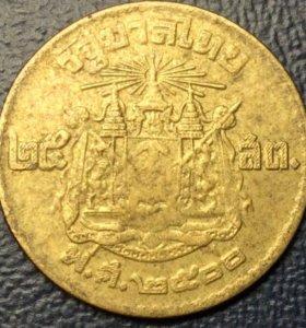 Монета Таиланда, 25 сатангов 1957