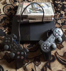 PlayStation 2 + игры.