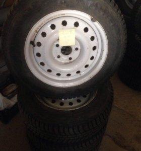 Комплект колёс на ВОЛГУ