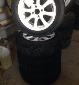 Комплект колёс на ВАЗ