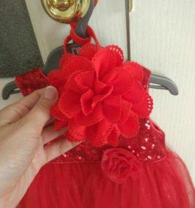 Платье Мавекея рост 80 см