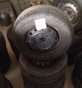 Комплект колёс на АВЕО