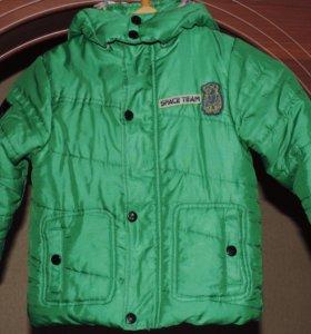 Комлект куртка и брючки демисезон фирма Пеликан