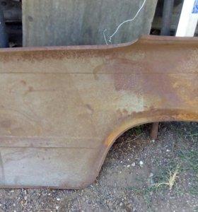 Крыло заднее левое на ВАЗ 2107