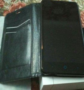 Смартфон ZTE blade X3 Black LTE