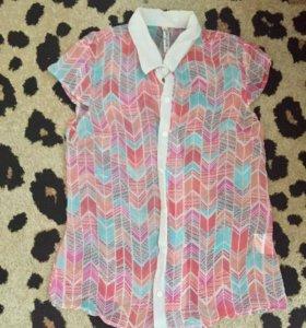Блузка (рубашка шифон)