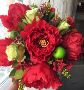 Цветы букет неувядающих цветов