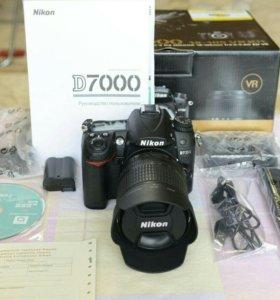 Nikon d7000 объектив 18-105 mm + запасн.аккум.