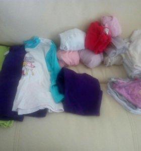 Пакет вещей на девочку 6-7 лет