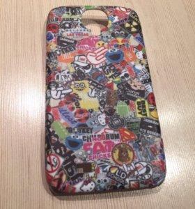 Чехол для Samsung Galaxy s4 stickerbombing