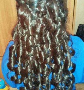 Плетение кос.цветные косы.прически