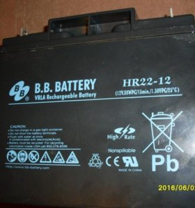 Аккумулятор для ибп BB Battery HR22-12