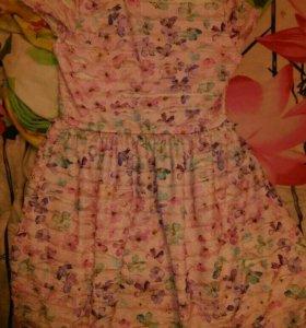 Платье 122-128