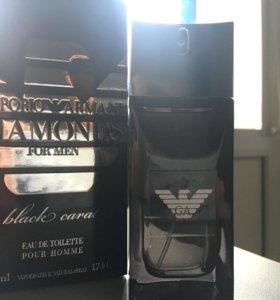 emporio armani diamonds black carat