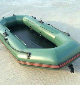 Лодка пвх 2х местная