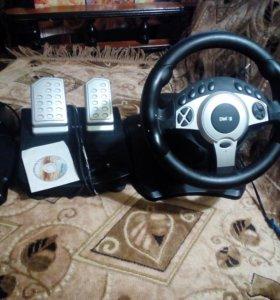 Приставка для ПК - руль с педалями