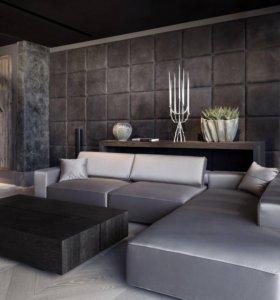 мягкие панели для стен
