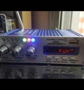 Мощный усилитель FM - MP 5
