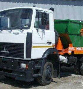 Оказание услуг по вывозу мусора