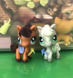 Пушистые коллекционные игрушки LPS