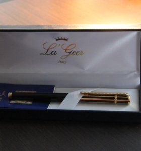 Ручка La Geer в подарок. Новая, шариковая