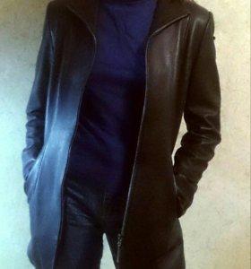 Куртка кожа натуральная, пиджак