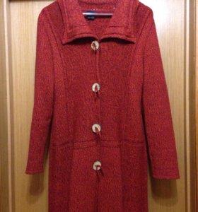 Вязаное пальто, кардиган